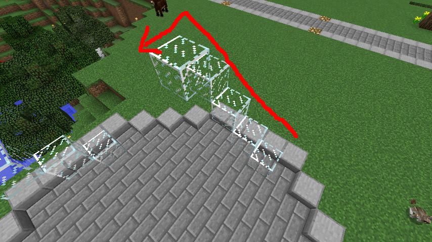 Minecrafterししゃもがマインクラフトで大きめのラセン噴水の作り方を紹介する7