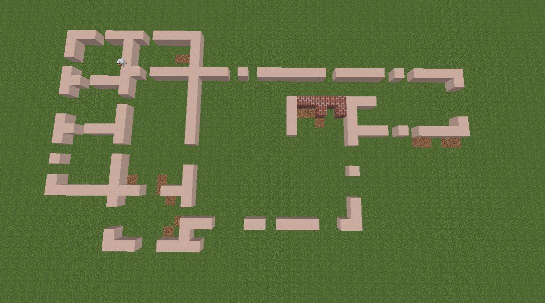 Minecrafterししゃもがマインクラフトで11代目右近権左衛門邸をぷっこ村仕様でアレンジ再現する4