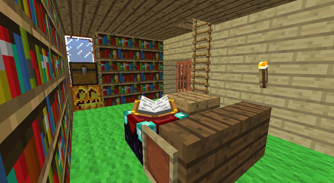 Minecrafterししゃもがマインクラフトでぷっこ村に小島の洋館を建設する5