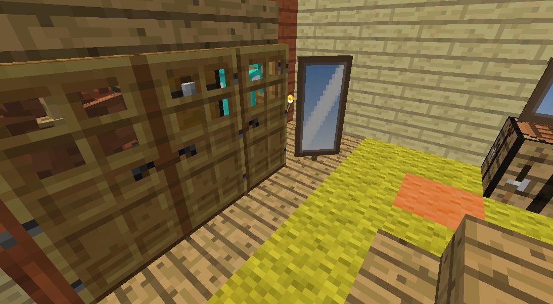 Minecrafterししゃもがマインクラフトでぷっこ村に小島の洋館を建設する6
