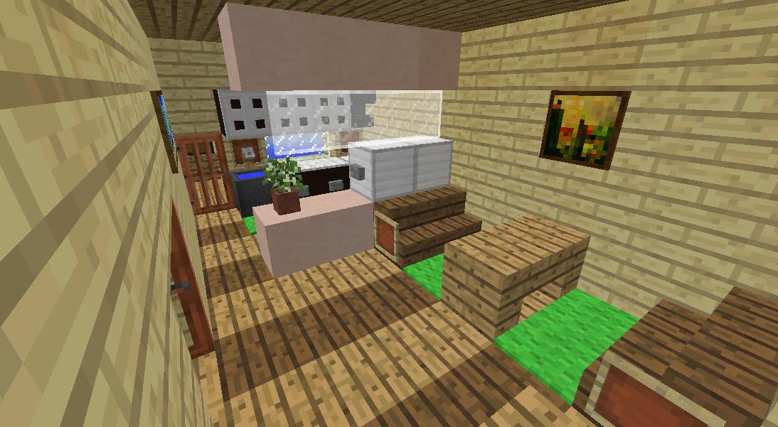 Minecrafterししゃもがマインクラフトでぷっこ村に小島の洋館を建設する3