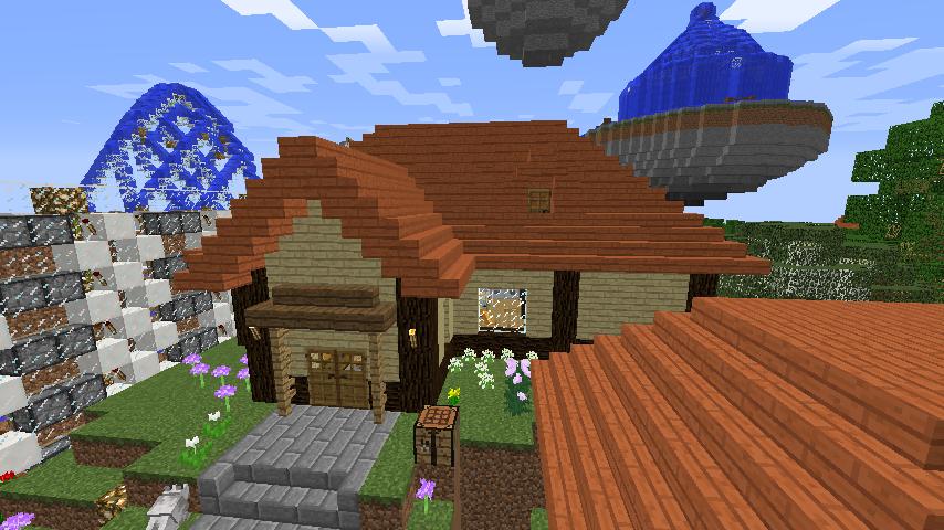 Minecrafterししゃもがマインクラフトでぷっこ村に拠点を建設する1