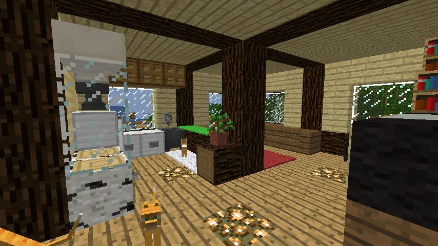 Minecrafterししゃもがマインクラフトでぷっこ村に拠点を建設する4