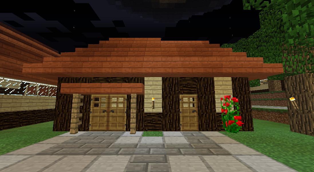 Minecrafterししゃもがマインクラフトでぷっこ村にトラップタワーを建設する4