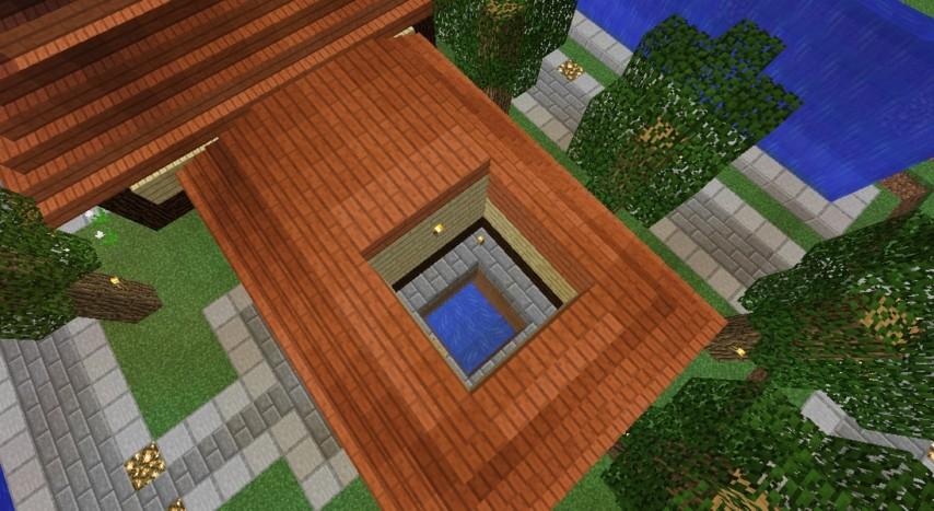 Minecrafterししゃもがマインクラフトでぷっこ村にトラップタワーを建設する5