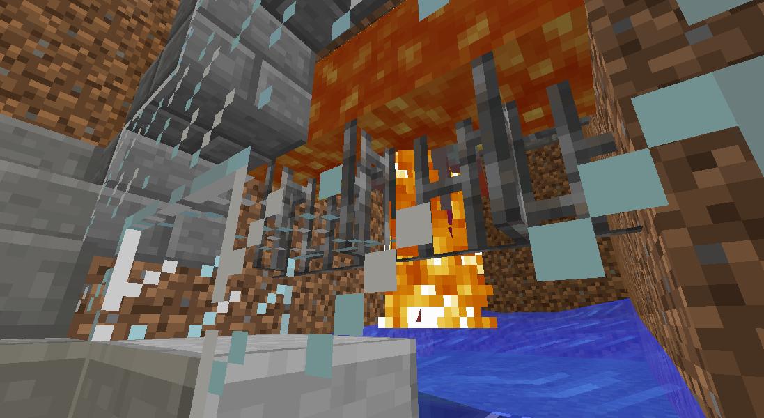 Minecrafterししゃもがマインクラフトでぷっこ村にトラップタワーを建設する6