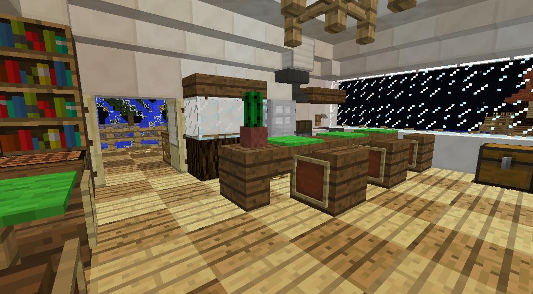 Minecrafterししゃもがマインクラフトでぷっこ村にカフェを建設する5