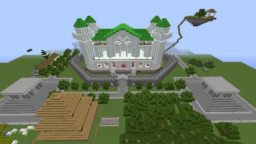 Minecrafterししゃもがマインクラフトでぷっこ村に海底の城を建設する1