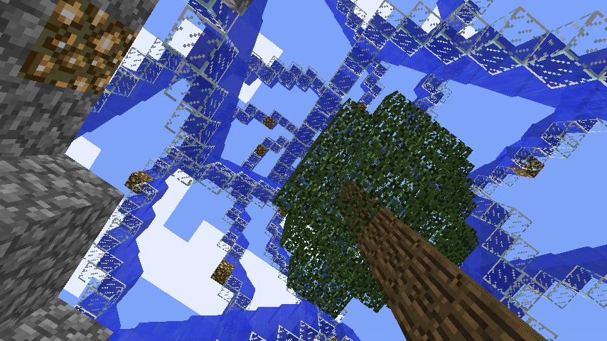 Minecrafterししゃもがマインクラフトでぷっこ村に巨大な噴水を建設する5