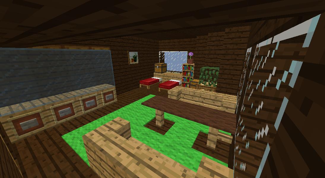 Minecrafterししゃもがマインクラフトでぷっこ村に観光用の遊覧飛行船を建設する5