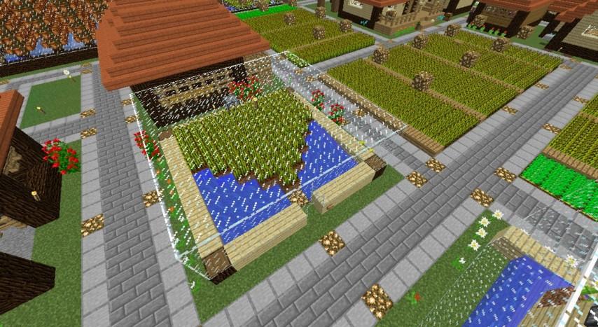 Minecrafterししゃもがマインクラフトでぷっこ村の農業を紹介する2