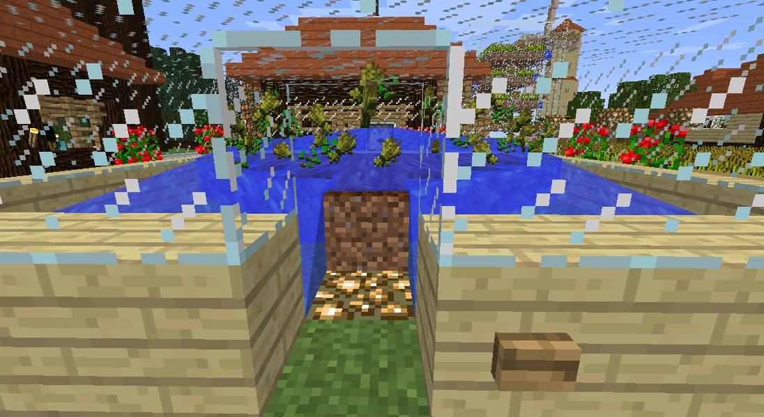 Minecrafterししゃもがマインクラフトでぷっこ村の農業を紹介する3