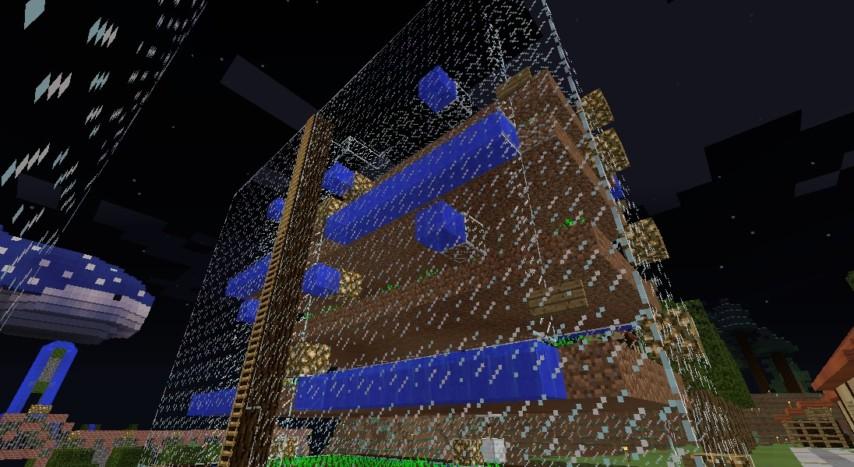 Minecrafterししゃもがマインクラフトでぷっこ村の農業を紹介する9