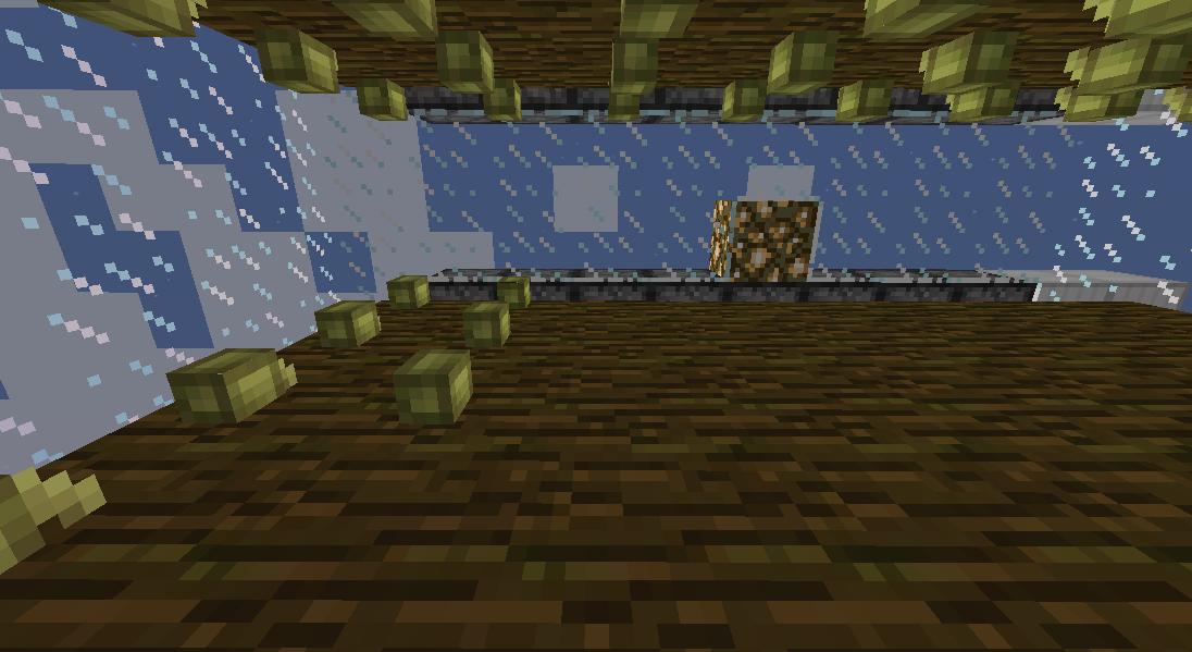 Minecrafterししゃもがマインクラフトでぷっこ村の自動カカオ豆収穫器を紹介する5