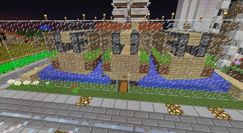 Minecrafterししゃもがマインクラフトでぷっこ村の自動カカオ豆収穫器を紹介する6