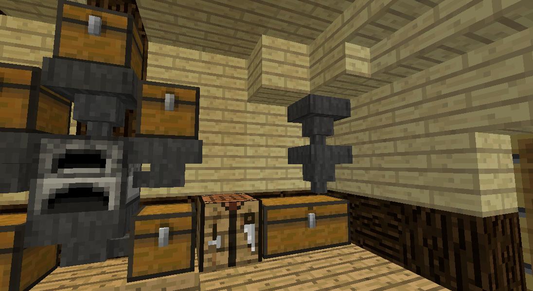 Minecrafterししゃもがマインクラフトでぷっこ村の全自動カボチャスイカ栽培機を紹介する5