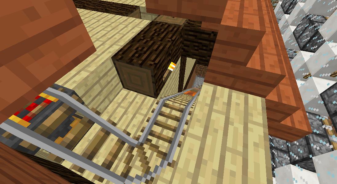 Minecrafterししゃもがマインクラフトでぷっこ村の全自動カボチャスイカ栽培機を紹介する6