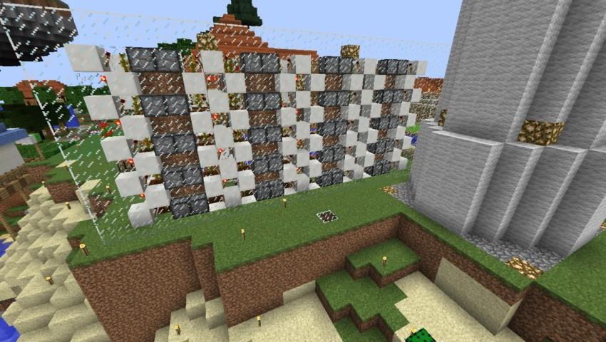 Minecrafterししゃもがマインクラフトでぷっこ村の全自動カボチャスイカ栽培機を紹介する1