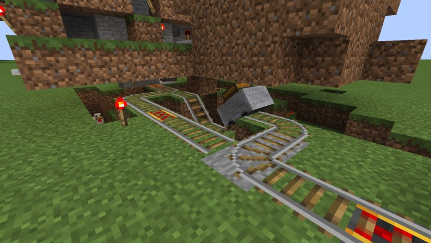 Minecrafterししゃもがマインクラフトでぷっこ村の全自動カボチャスイカ栽培機を紹介する7