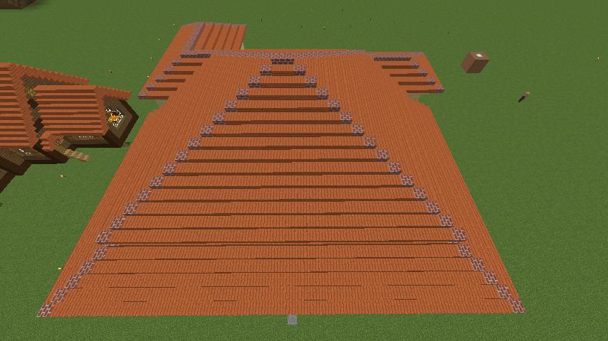 Minecrafterししゃもが、マインクラフトで旧リンガー邸をぷっこ村仕様でアレンジ再現する5