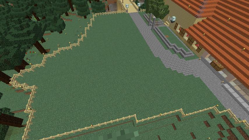 Minecrafterししゃもがマインクラフトで旧ウォーカー住宅をぷっこ村仕様でアレンジ再現する2