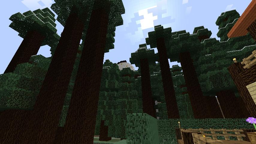 Minecrafterししゃもがマインクラフトでぷっこ村にブライト家を建設する3