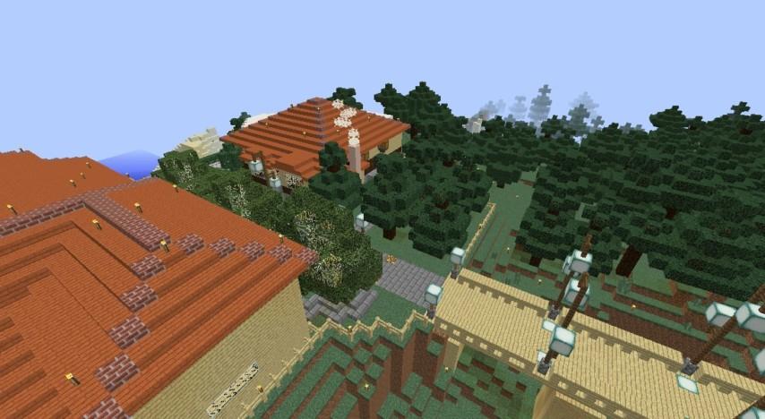 Minecrafterししゃもがマインクラフトで旧ウォーカー住宅をぷっこ村仕様でアレンジ再現する1