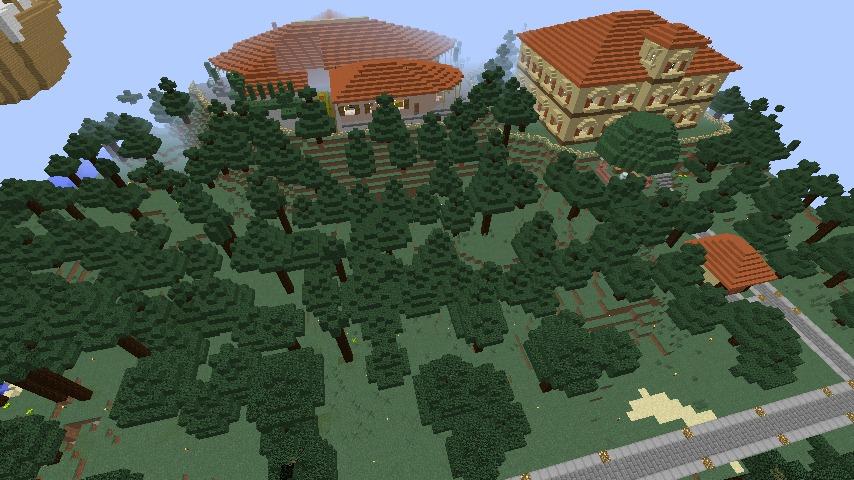 Minecrafterししゃもがマインクラフトで11代目右近権左衛門邸をぷっこ村仕様でアレンジ再現する1