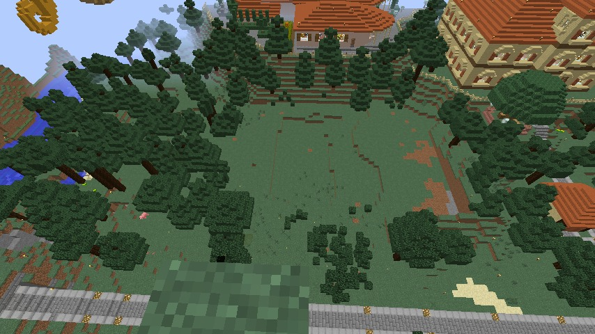 Minecrafterししゃもがマインクラフトで11代目右近権左衛門邸をぷっこ村仕様でアレンジ再現する2