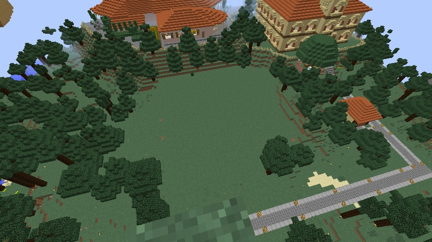 Minecrafterししゃもがマインクラフトで11代目右近権左衛門邸をぷっこ村仕様でアレンジ再現する3