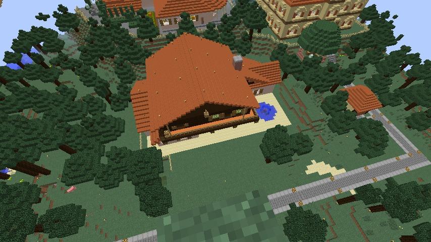 Minecrafterししゃもがマインクラフトで11代目右近権左衛門邸をぷっこ村仕様でアレンジ再現する11