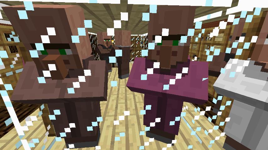 Minecrafterししゃもがマインクラフトでぷっこ村の居住地区を紹介する8