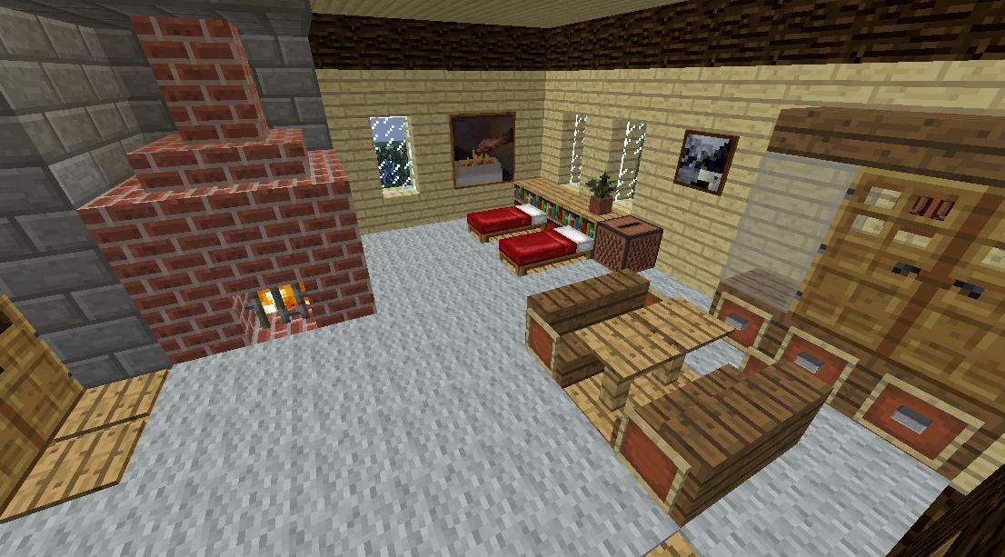 Minecrafterししゃもがマインクラフトでぷっこ村に観光名所の四季の館を建設する10