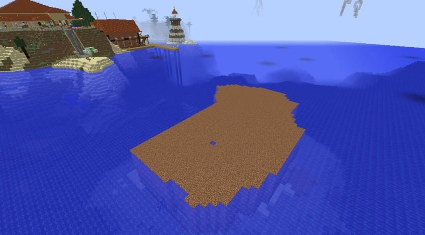 Minecrafterししゃもがマインクラフトでぷっこ村の公開の安全を願って灯台を建てる2