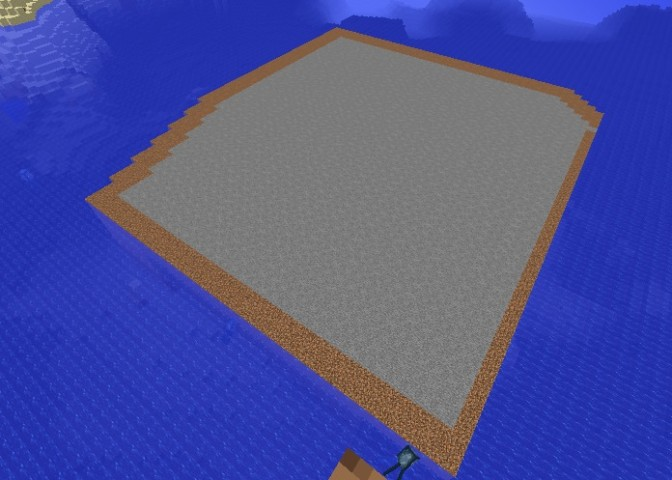 Minecrafterししゃもがマインクラフトでぷっこ村の公開の安全を願って灯台を建てる5