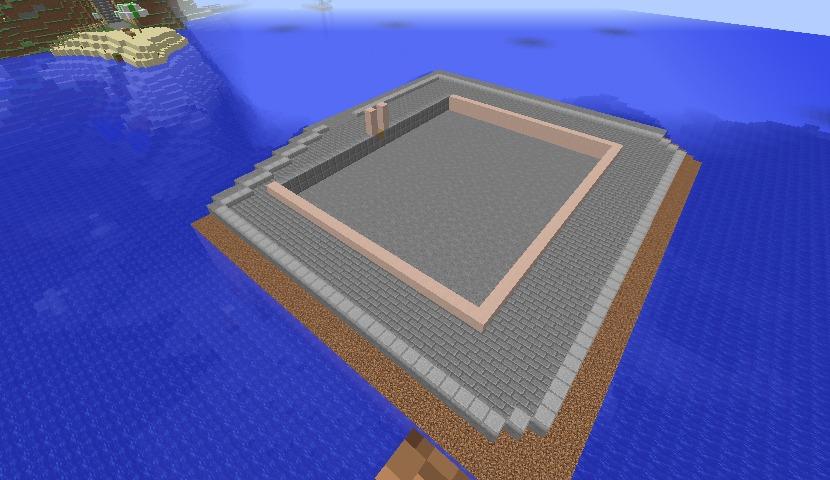 Minecrafterししゃもがマインクラフトでぷっこ村の公開の安全を願って灯台を建てる6