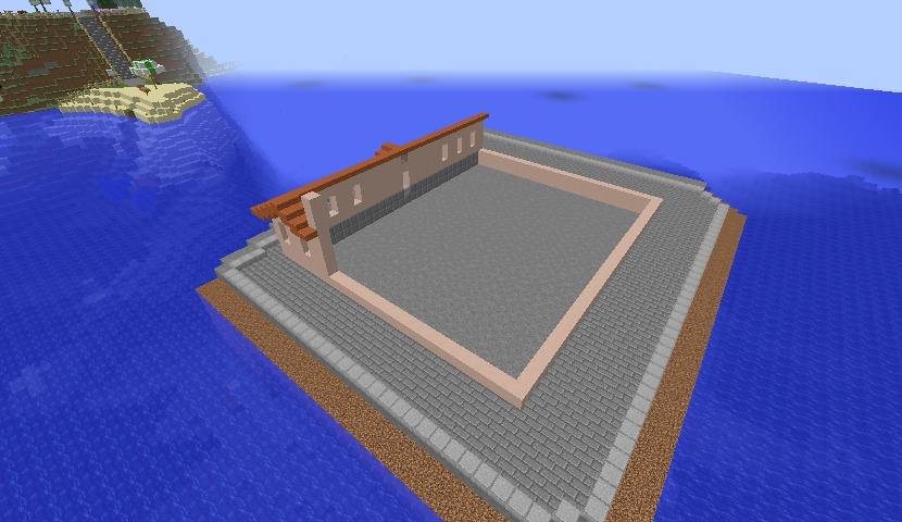 Minecrafterししゃもがマインクラフトでぷっこ村の公開の安全を願って灯台を建てる7