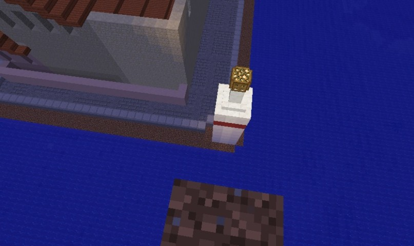 Minecrafterししゃもがマインクラフトでぷっこ村の公開の安全を願って灯台を建てる10