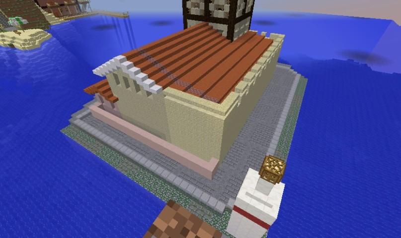 Minecrafterししゃもがマインクラフトでぷっこ村の公開の安全を願って灯台を建てる8
