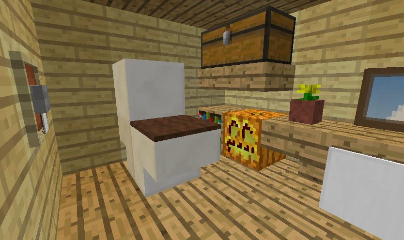 Minecrafterししゃもがマインクラフトでぷっこ村に小島の洋館を建設する7