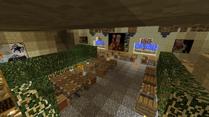 Minecrafterししゃもがマインクラフトでぷっこ村の公開の安全を願って灯台を建てる15