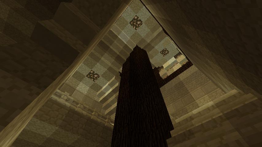 Minecrafterししゃもがマインクラフトでぷっこ村の公開の安全を願って灯台を建てる16