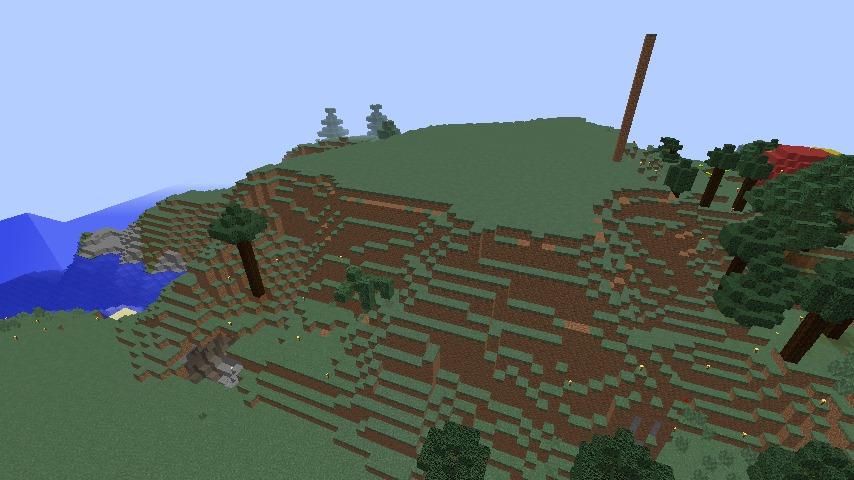Minecrafterししゃもがマインクラフトでぷっこ村の小高い丘に洋館を建てる2