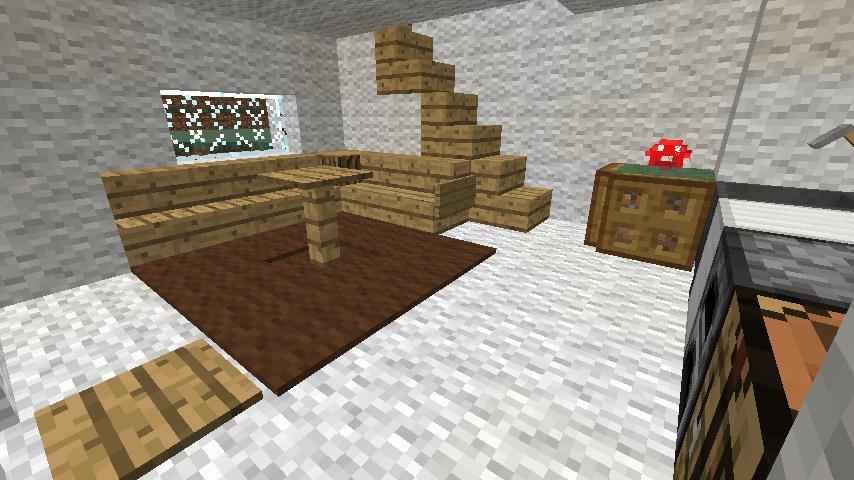 Minecrafterししゃもがぷっこ村の外れに魔法使いの弟子たちのキノコの家を建設する3