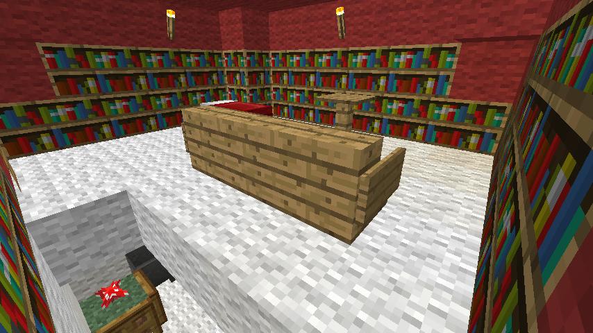 Minecrafterししゃもがぷっこ村の外れに魔法使いの弟子たちのキノコの家を建設する4