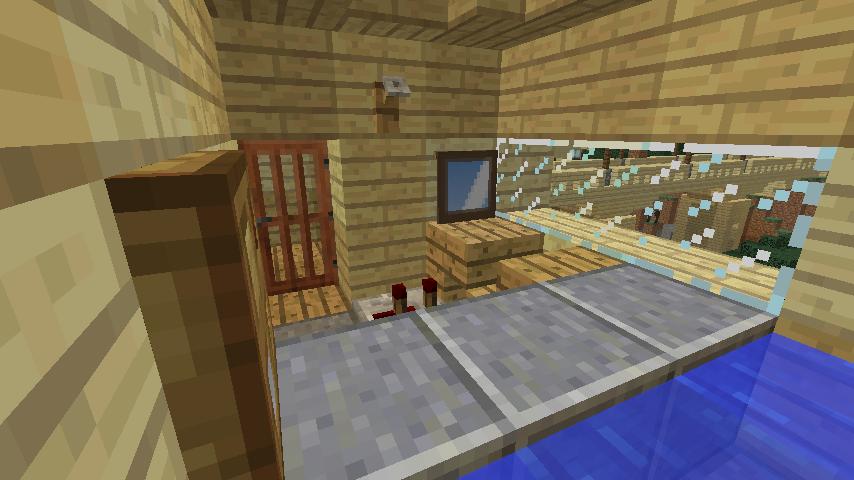 Minecrafterししゃもが、マインクラフトで旧リンガー邸をぷっこ村仕様でアレンジ再現する10
