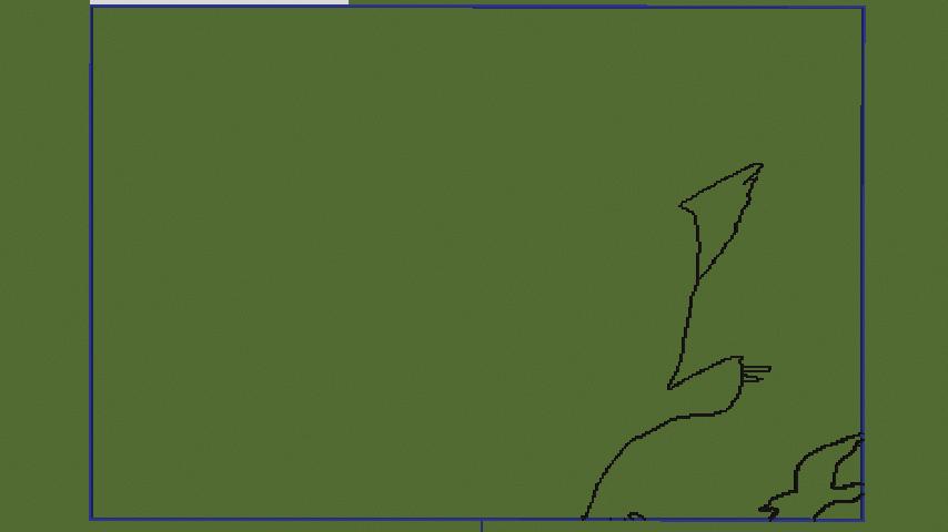 Minecrafterししゃもがマインクラフトで地図を使った絵画の追加でジブリ作品の魔女の宅急便をドット絵化する2