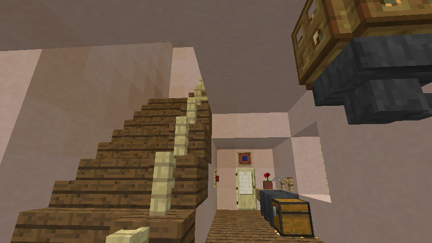 Minecrafterししゃもがマインクラフトでぷっこ村に旧スチイル記念学校をモデルにした学校を建設する6