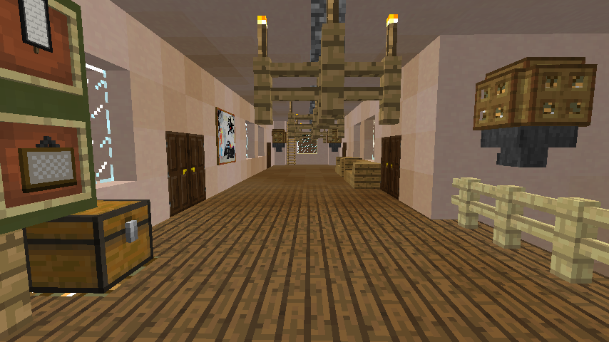 Minecrafterししゃもがマインクラフトでぷっこ村に旧スチイル記念学校をモデルにした学校を建設する2