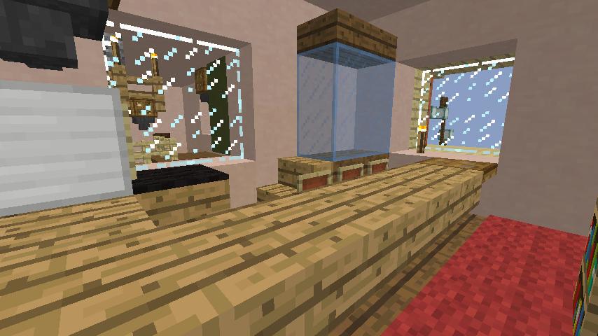 Minecrafterししゃもがマインクラフトでぷっこ村に旧スチイル記念学校をモデルにした学校を建設する10